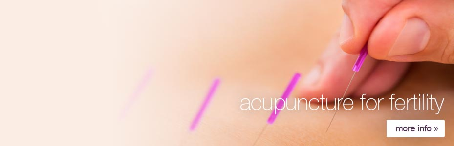 Using acupuncture for fertility