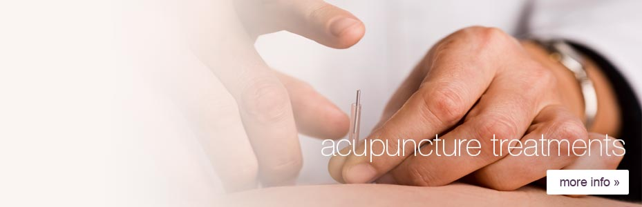 Acupuncture treatments for common heath problems